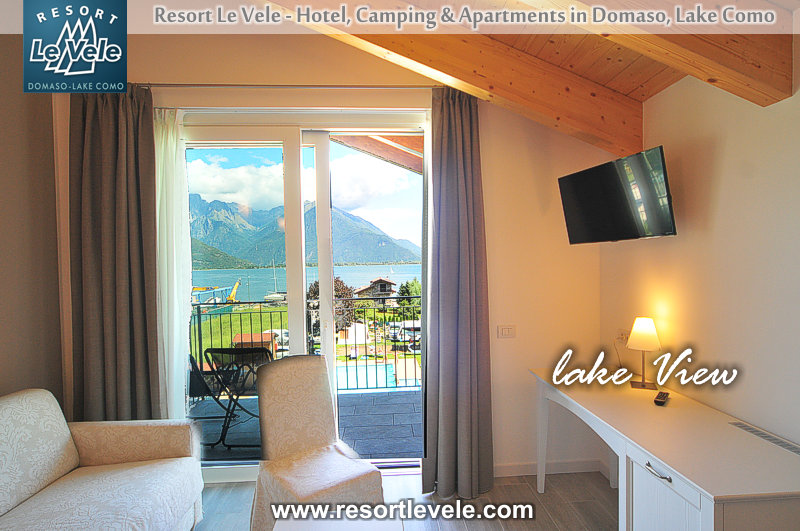 hotel lake view resort le vele domaso lake Como