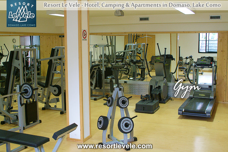 hotel resort le vele domaso lake como with gym